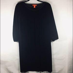 Joe Fresh Crew Neck Velvet Dress